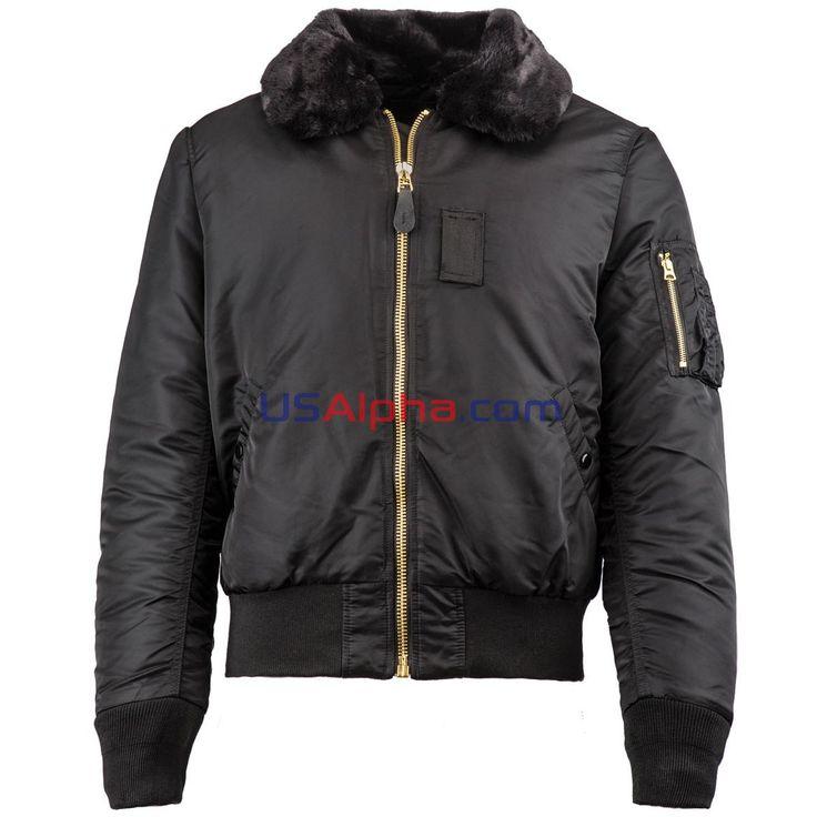 Куртка B-15 Slim Fit #аляска #парка #куртка #мужская куртка #зимняя куртка #usalpha.com #бомбер #летная куртка #демисезон