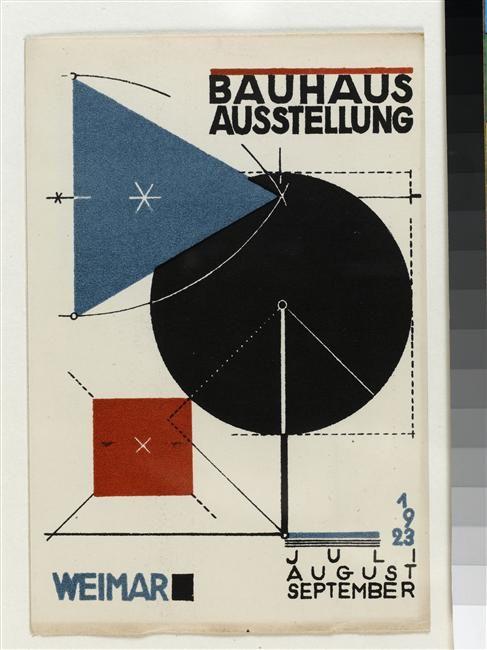 Carton d'invitation | Bayer Herbert (1900-1985) | Paris, Centre Pompidou | Réunion des Musées Nationaux-Grand Palais