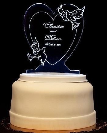 wedding cake toppers light up 14 best images about custom cake toppers on 26521
