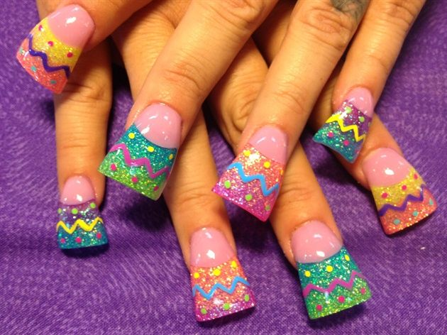 Easter nail art designs have been showcased by many websites this year in  various shades and styles, but the ones that we are about to. - 221 Best Easter Nail Art Images On Pinterest Easter Nail Art