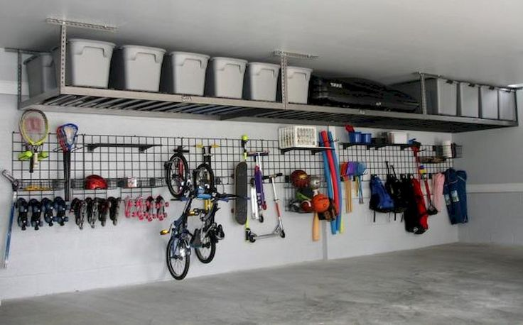 25 tolle Garage Organisation Dekor Ideen