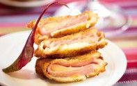 Pour améliorer la recette de l'escalope panée, jambon blanc, emmental et béchamel, suivez bien l'astuce du chef étoilé Cyril Lignac.