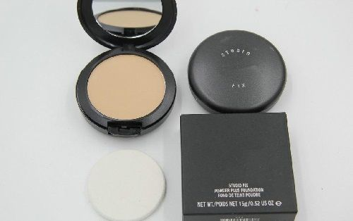 AMAZING BRAND Studio Fix Powder Cake Plus Compact Foundation, Face Powder Puffs…