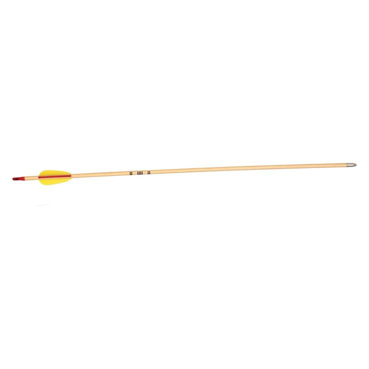 Bear Bow AWS27 27 in. Wood Arrows - Set of 72 - AWS27