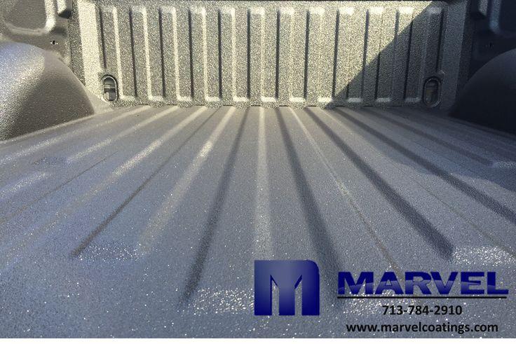 Spray on Bedliner coated with #MarvelCoatings M91 High Pressure material. #Bedliner #Polyurea #SprayOnBedliner