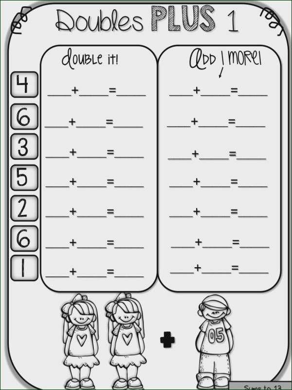 Doubles Facts Worksheets Inspiring Fine Math Doubles Math Fact Worksheets Math Facts Doubles facts worksheets