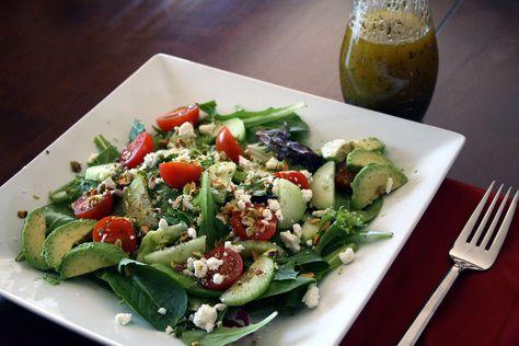 indulgent salad (recipe)