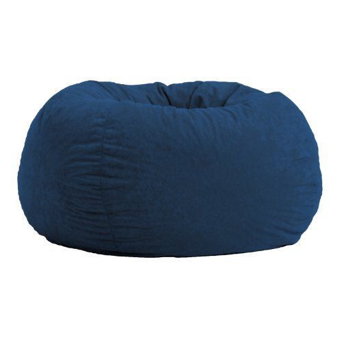 $80 NEW-Comfort-Research-Classic-Bean-Bag-in-Comfort-Suede-Blue-Sky