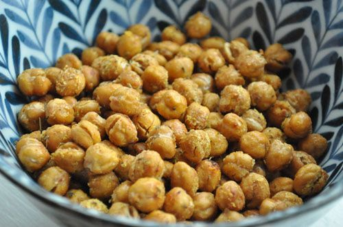 Roasted chickpeas! Toddler friendly! My daughter Charlotte eats them! Low in fat, high in fiber, decent protein, iron, potassium, | How Do It Info