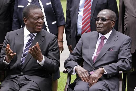 Harare - Zimbabwe's top general said on Monday he was encouraged by contact between President Robert Mugabe and former vice president Emmerson Mnangagwa, whose sacking two weeks ago triggered a coup.