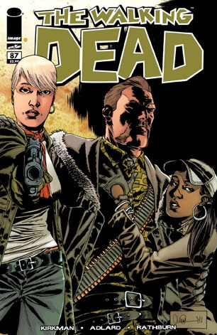 The Walking Dead: Issue #87 Abraham & Rosita... and HER! =0/