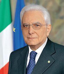 Sergio Mattarella, presidente della Repubblica Italiana dal 2015