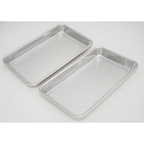 Toaster Oven Pan Set Of 2 Non Stick Baking Oven Cookies Kitchen Tray 9 x 5 Inch #PerfectHomeSavings