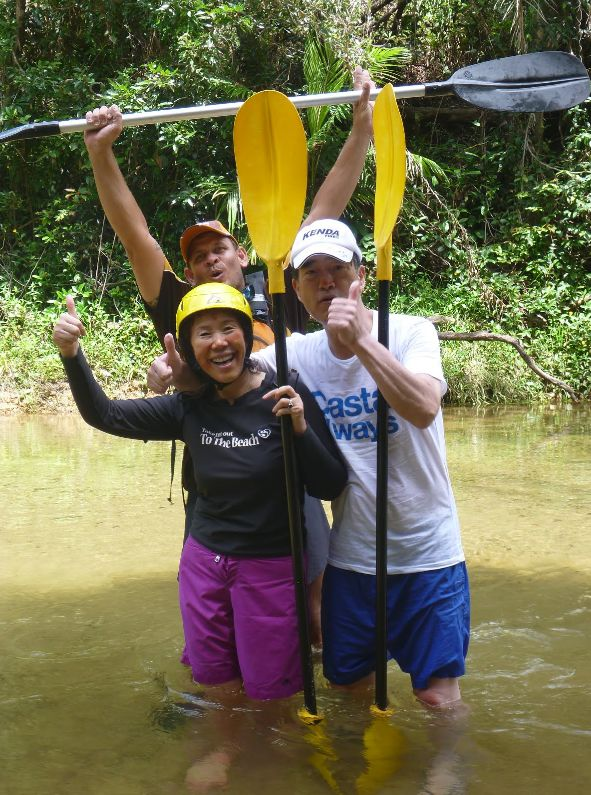 For the more active visitors there is safe water rafting in canoes.