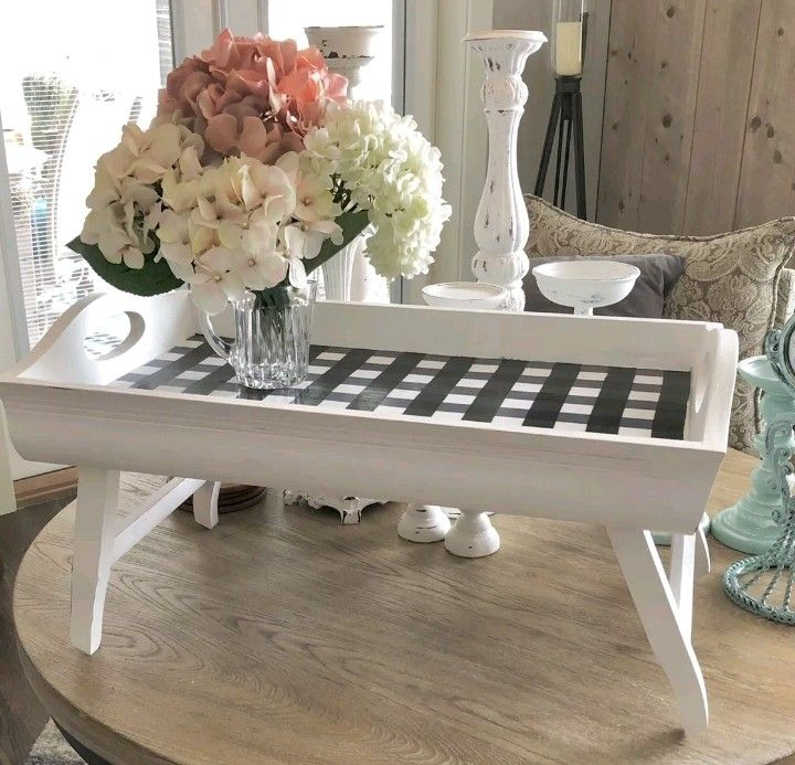 Personalized Serving Tray With Legs Personalized Serving Tray Bed Tray Tray Decor