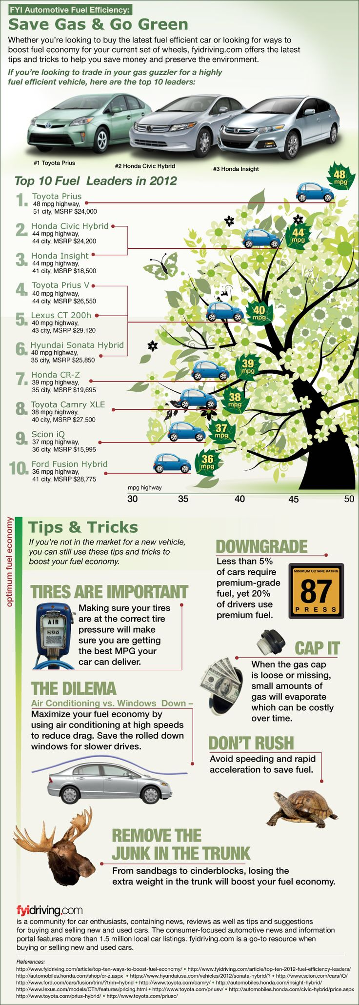 Save gas and go green infographic we should talk about these cars in earth club