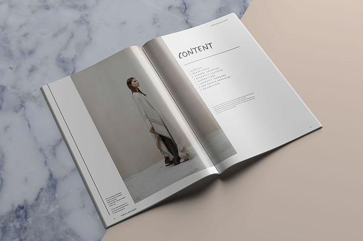 Carlaa Magazine Template_pixelo #magazine #template