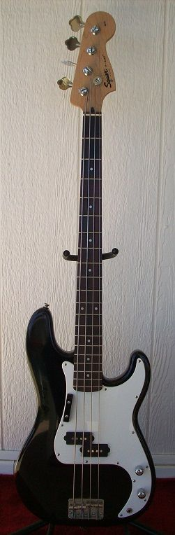 My Fender Squire P-Bass