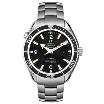 Omega Men's 2200.50.00 Seamaster Planet Ocean Automatic Chronograph Watch: Watches: Amazon.com