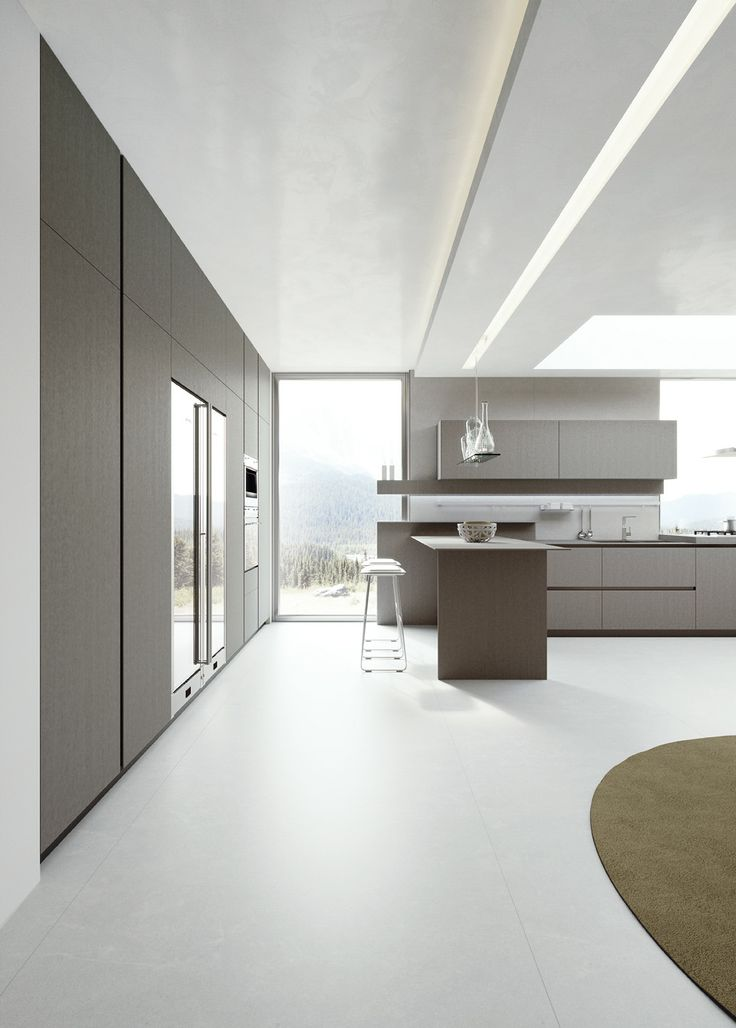 PaperStone Light Grey doors and top ArritalCucine