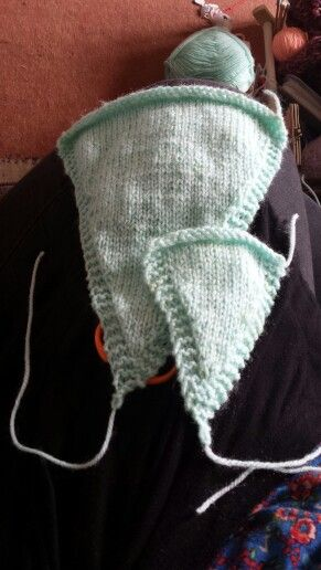 More knitted bunting i am trying