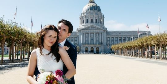 Through #sf city hall #wedding #photography services you could enjoy the most #romantic place of San Francisco and get the most cozy and refreshing moments with your loved one just before your wedding vows.