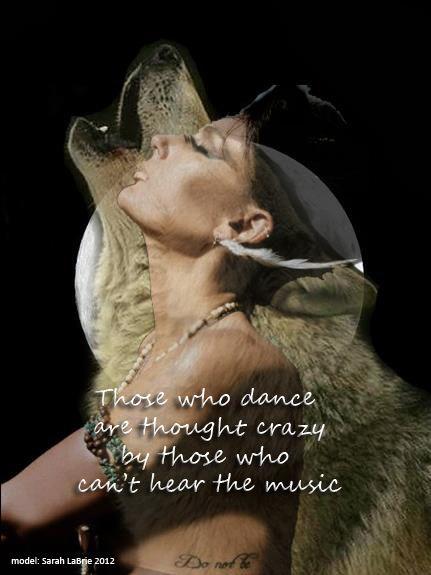 Native American saying...