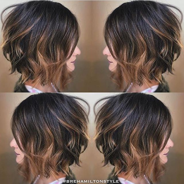Top 100 short hairstyles for round faces photos Less is definitely more with this hairstyle! @brehamiltonstyle is truly an artist! Wonderful work! See more http://wumann.com/top-100-short-hairstyles-for-round-faces-photos/