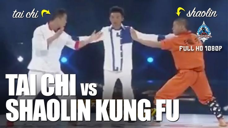 Tai Chi vs Kung Fu Shaolin Full HD 1080p