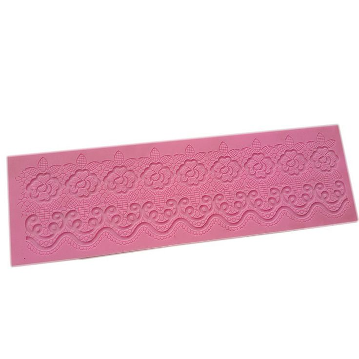 Silicone Mold Cake Lace Mats Mold Silicone Lace Mat Fondant Cake Decorating Tools Wedding Flower Embossing. Click visit to read descriptions #Bakeware