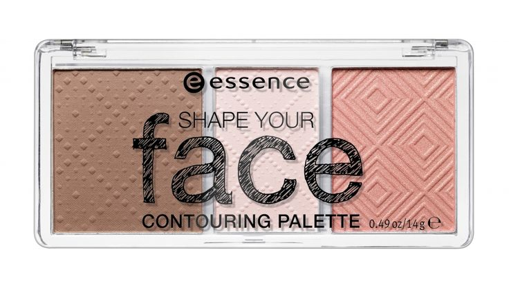 essence paleta za konturing Shape Your Face - 10 Ready, Set, Peach!