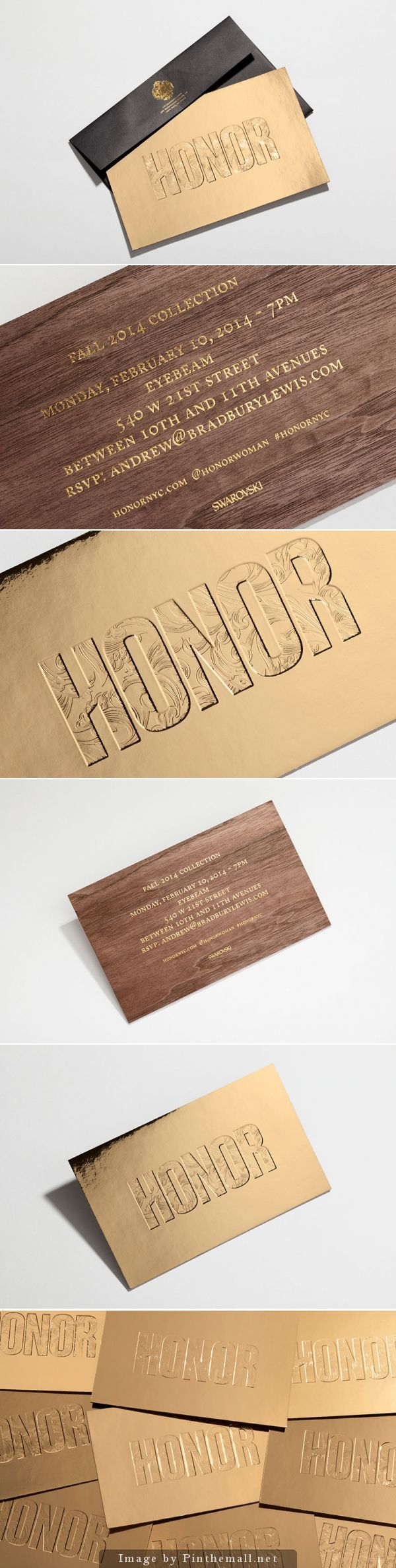 corporate event invitation email%0A A siren song of wood veneer and debossed gold foil  this lavish invitation  beckons like