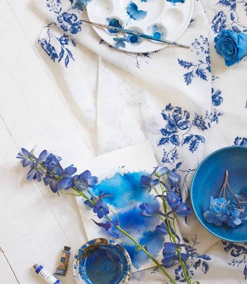 fiori ... blu