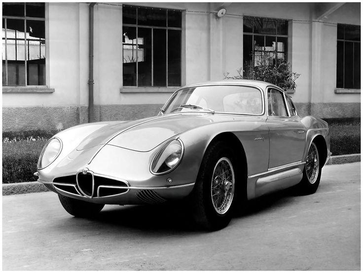 1954 Alfa Romeo 2000 Sportiva Coupe Bertone