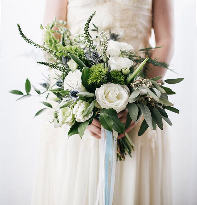 194 Best White And Green Bouquets Images On Pinterest
