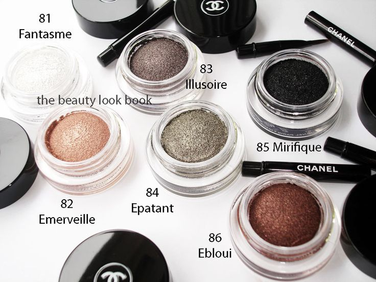 Chanel Illusion d'Ombre illusoire==tip: Gel eye shadows can be worn as eye liners as well.