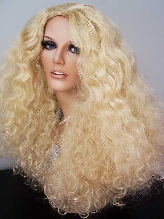 Nicki Minaj Blonde Curly Hair Wig 90