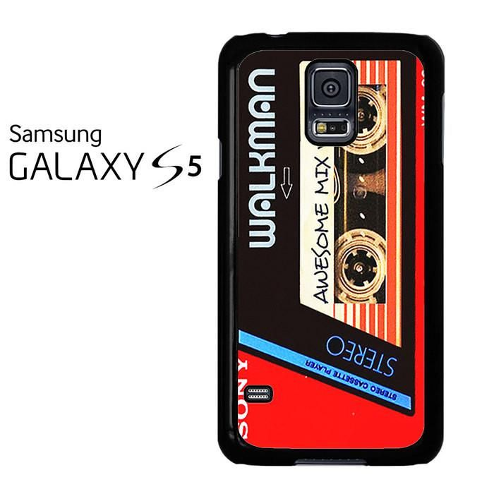 Walkman Awesome Mix Vol 1 Red Tape Samsung Galaxy S5 Case