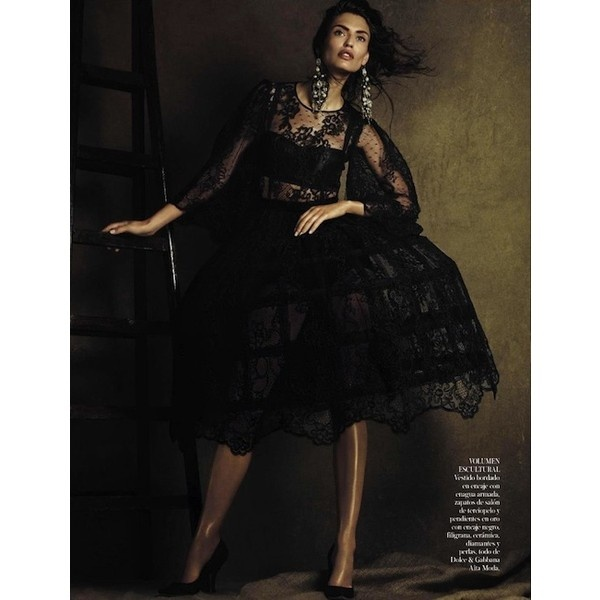 Vogue SpainMammamia, Vogue Spain, October 2012, Spain October, Fashion Photography, Mamma Mia, Giampaolo Sgura, Lace Dresses, Bianca Balti