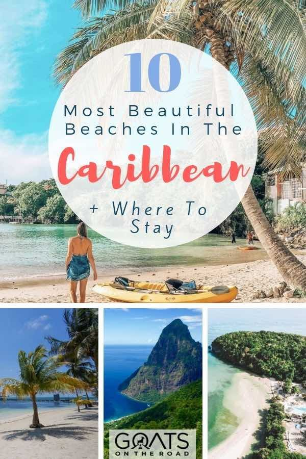 top 10 best beaches in the caribbean travel adventure paradise rh pinterest com