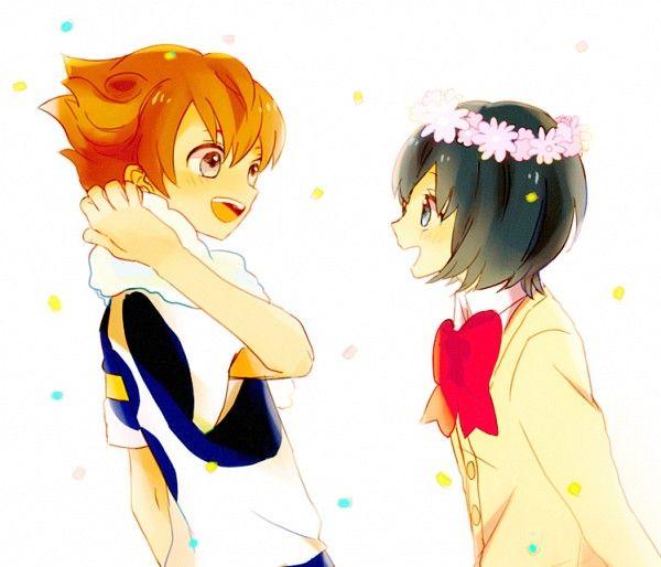 Matsukaze Tenma and Sorano Aoi LOVE