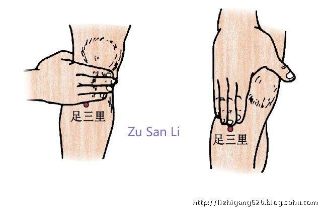 Zu San Li, le point des centaines de maladies : Voici ce qui se passe quand vous le massez ! - Santé Nutrition