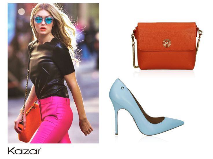 Colourful outfits- perfect for the spring-summer season.