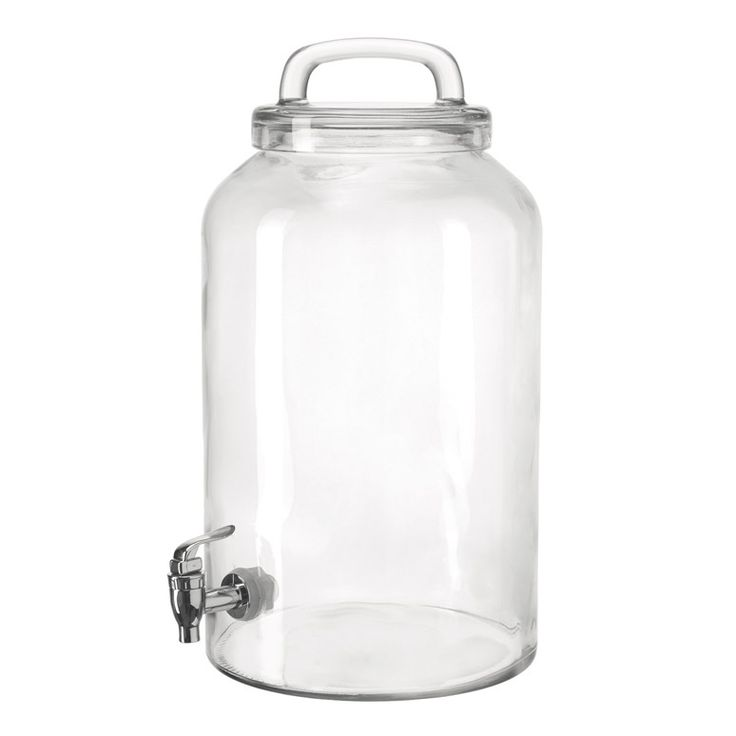 Fontaine à boisson en verre avec robinet ENJOY Montana port offert