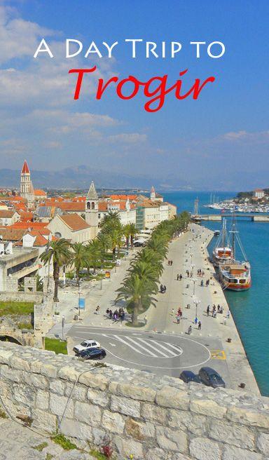 A visit to Trogir, a Unesco World Heritage Site: http://bbqboy.net/day-trip-trogir-croatia/ #croatia #trogir