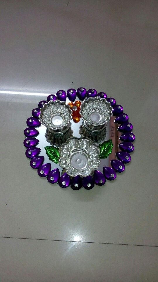 127 best images about kundan rangoli on pinterest online for Decoratives from waste