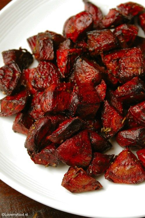 Grilled beets with balsamic