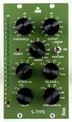 Desde Polonia el compresor S-Type 500 de IGS Audio.
