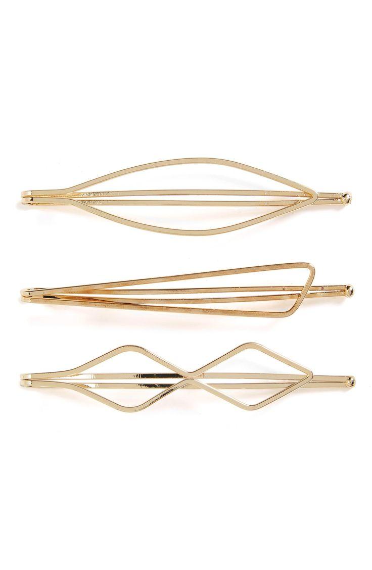 Cara Hair Clips (3-Pack)