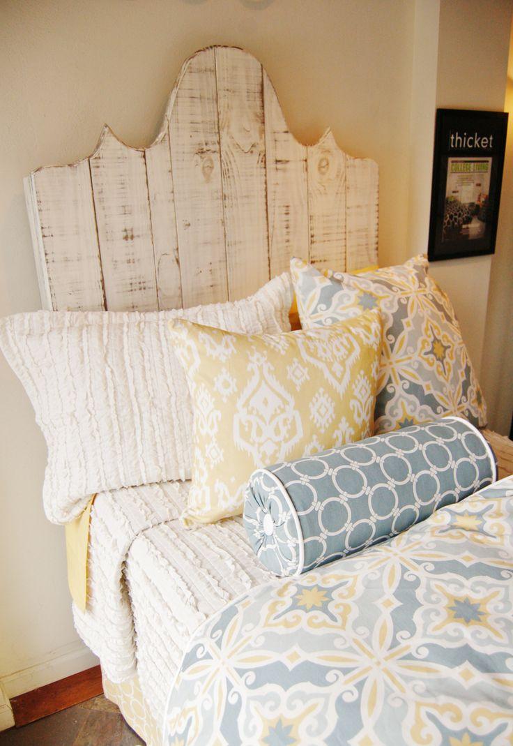 Headboard - Free Standing | Dorm Suite Dorm dorm headboard. dorm ideas. dorm room ideas.